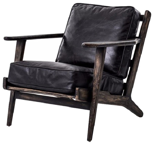 Irondale Brooks Lounge Chair - Midcentury - Armchairs And Accent