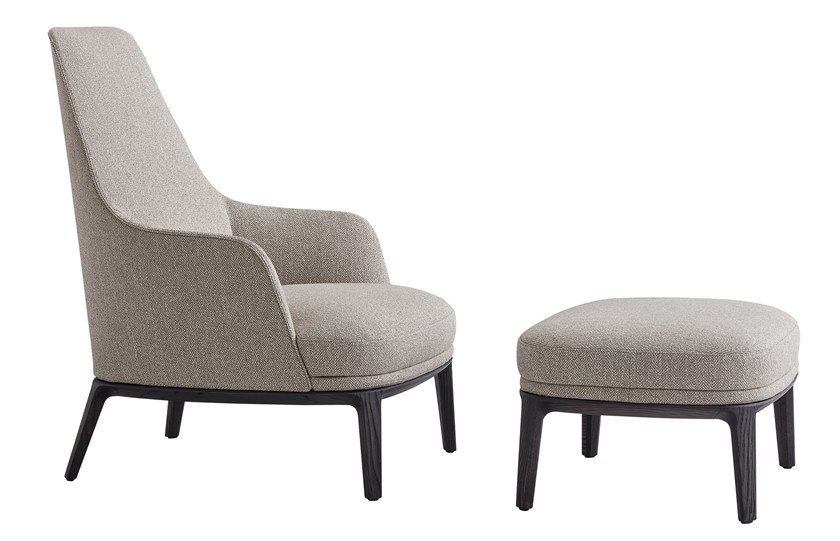 JANE LOUNGE | Armchair Jane Collection By poliform design Emmanuel