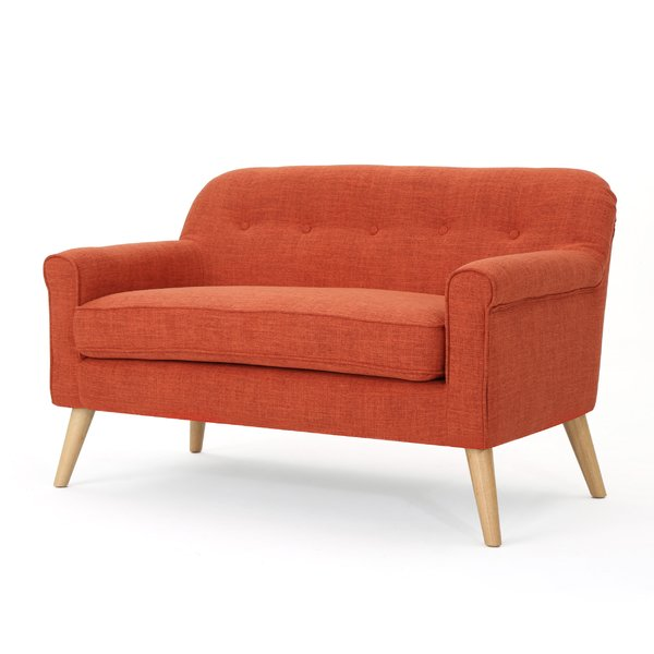Turn on the Brights Anchill Mid Century Modern Loveseat & Reviews