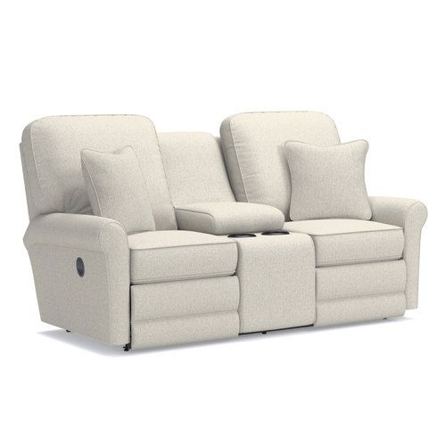 Addison Reclining Loveseat w/ Console | La-Z-Boy