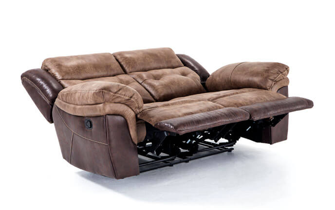 Phoenix Leather Power Reclining Loveseat | Bob's Discount Furniture