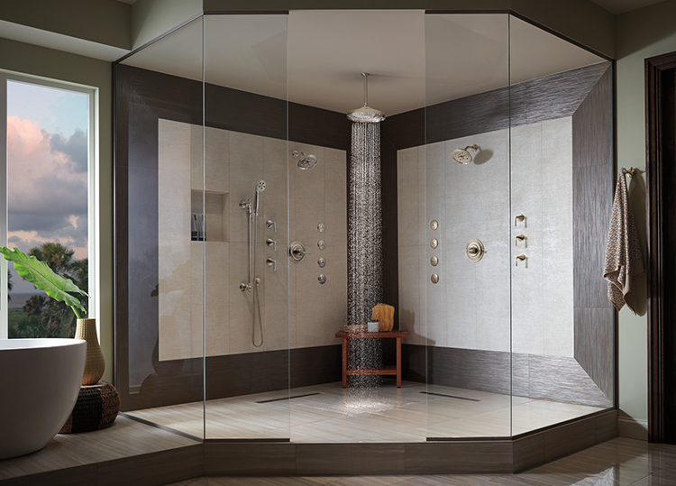 Going Deluxe - Luxury Trends in Bathroom Design | Riverbend Home