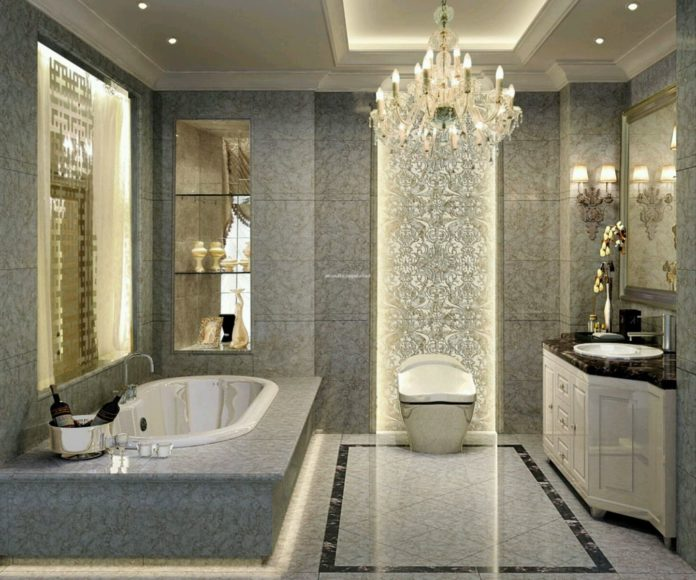 Luxury Bathroom Design with Extraordinary Bathroom Furniture