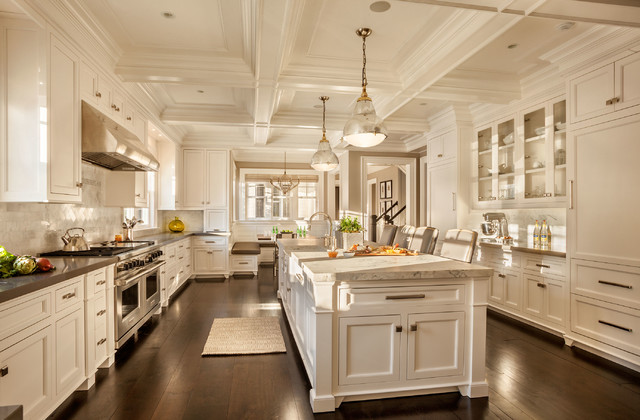 Luxury Kitchen - Transitional - Kitchen - New York - by Garrison