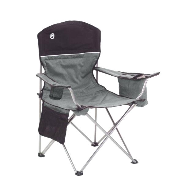 Luxury Coleman Chairs Oversized Black Camping Lawn Chairs Cooler 2
