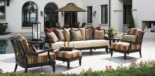 Best Luxury Lawn Chairs Fabulous High End Patio Furniture Exterior