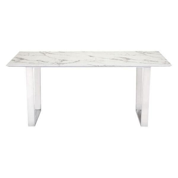 Acme Marble Dining Table | Wayfair