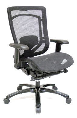 Eurotech Monterey MMSY55 Mesh Seat Office Chair with Mesh Back at