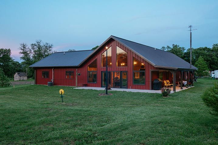 Very Impressive Metal Building Home (HQ Pictures) | Metal Building