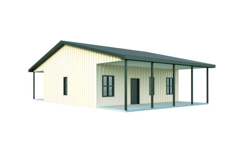 Metal Building Homes - 12 Custom Metal Home Kits | General Steel