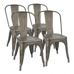 Care and maintenance of the metal chairs