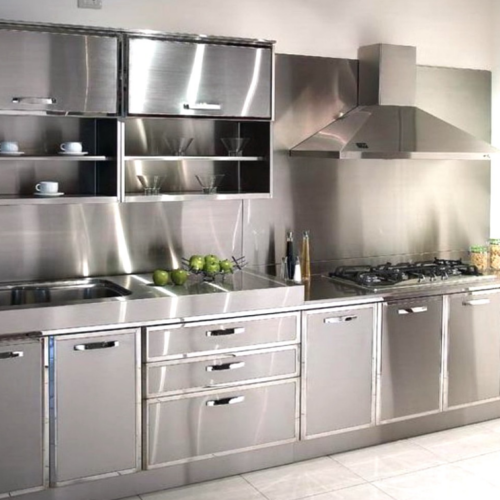 Olympia Modular Stainless Steel Kitchen Cabinet, Rs 14000 /unit | ID