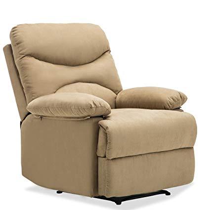 Amazon.com: SUNCOO Microfiber Recliner Sofa Chair Ergonomic Lounge
