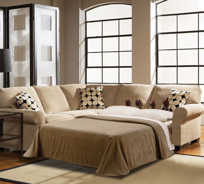 Ethan Full Sleeper Sectional | Broyhill | Naples | Rooms home decor