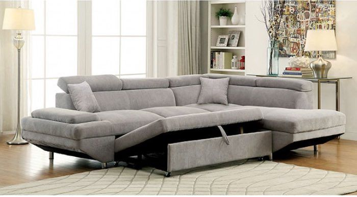 Foreman Sectional W/ Pull Out Sleeper | Northmeadow Remodel Ideas