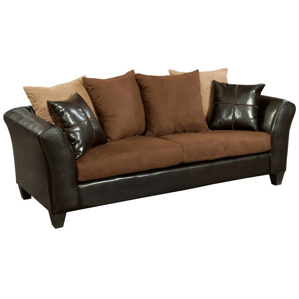 Latitude Run Dilorenzo Microfiber Sofa | Wayfair