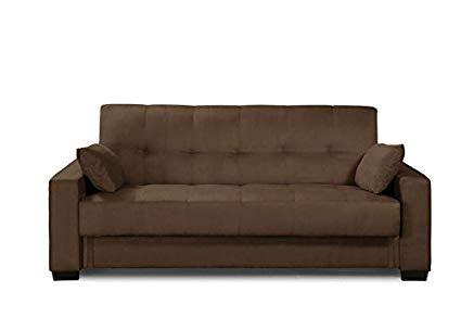 Amazon.com: Pearington Mia Microfiber Sofa Sleeper Bed & Multi