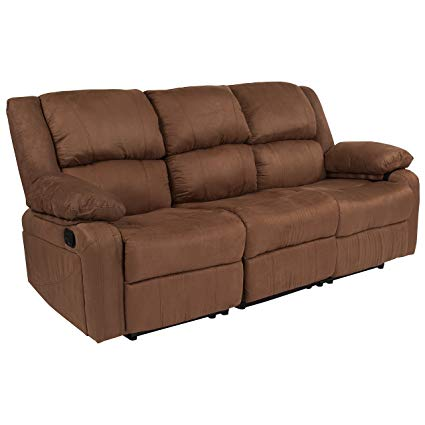 Get a microfiber sofa for your living   room for easy maintenance