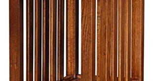 Amazon.com: Leick Furniture Mission Side Table, Medium Oak: Kitchen
