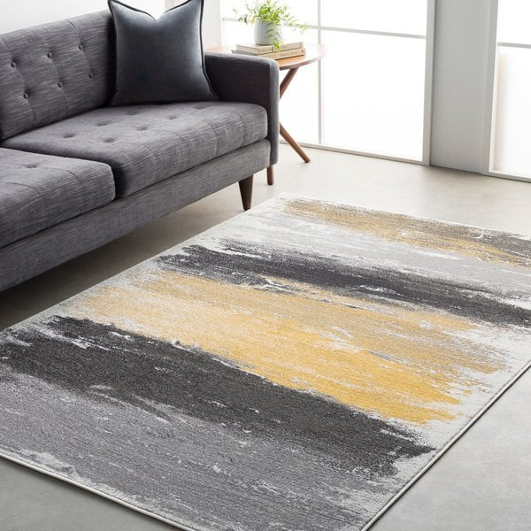 Shop Drew Vibrant Modern Area Rug - On Sale - Free Shipping Today