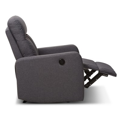 Garland Modern And Contemporary Fabric Power Recliner Armchair