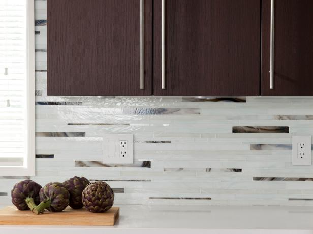 Contemporary Kitchen Backsplash Ideas + HGTV Pictures | HGTV