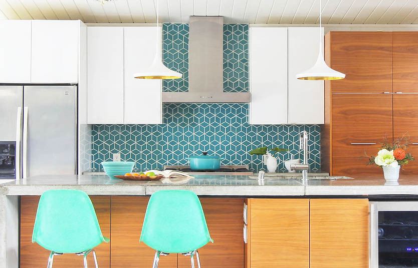 Kitchen Backsplash Ideas u2014 Mid Century Modern Interior Designer