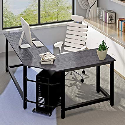 Amazon.com: Modern Computer Desk L Shaped Corner Desk Home Office