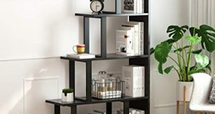 Amazon.com: Tribesigns 5-Shelf Ladder Corner Bookshelf, Modern