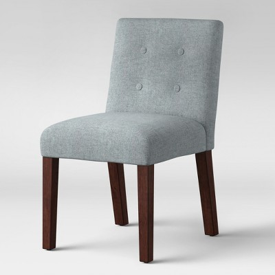 Ewing Modern Dining Chair With Buttons Gray - Project 62™ : Target