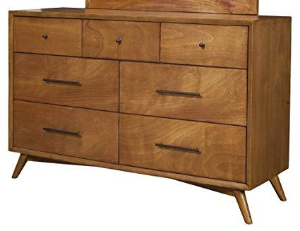 Amazon.com: Alpine Furniture Flynn Mid Century Modern 7 Drawer