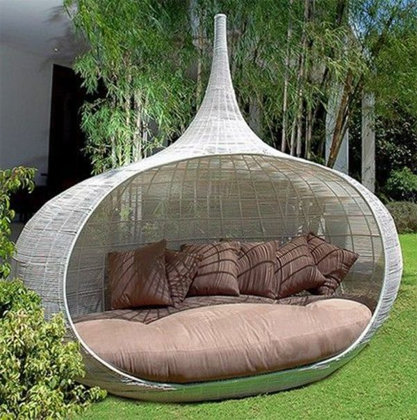 45 Outdoor rattan furniture - modern garden furniture set and lounge