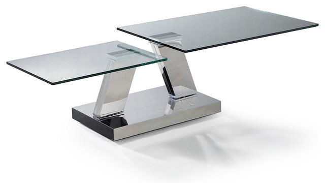 lift modern glass coffee table - Cool Coffee Tables Styling and