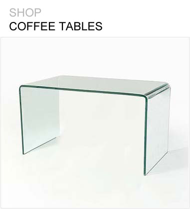 Glass Furniture | Modern Glass Tables For Sale - Abode Interiors