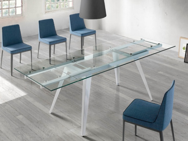 Glass Dining Room Sets Modern Table Set Throughout Contemporary