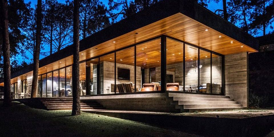 modern house - Wernerfield architects - texas - Mid Century Home