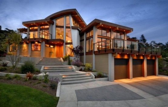 Modern House Interior To Merge With Nature - DigsDigs