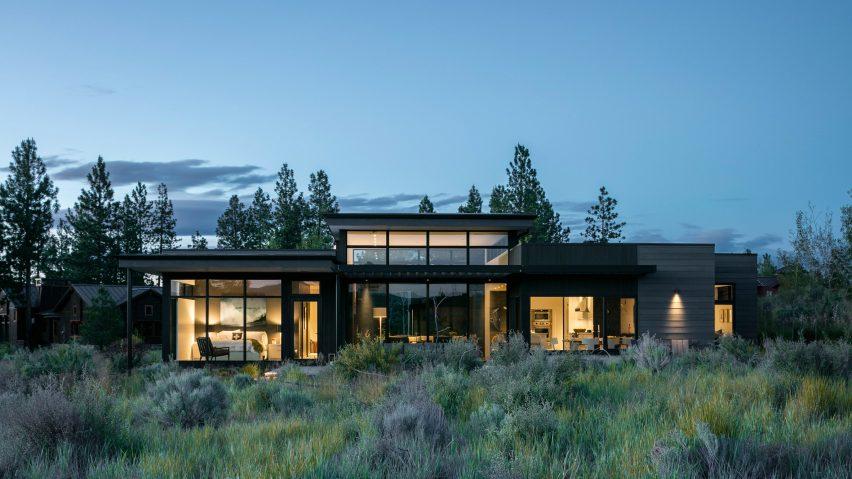 High Desert Modern house is designed to be