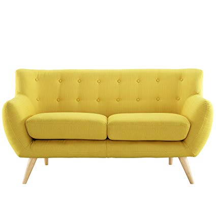 Amazon.com: Modway Remark Mid-Century Modern Loveseat With