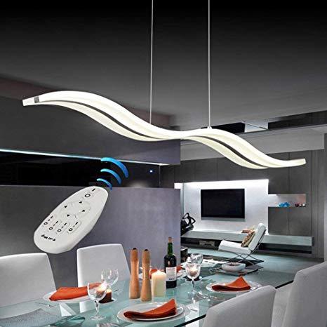 Modern Pendant Lighting White LED Pendant Light for Contemporary