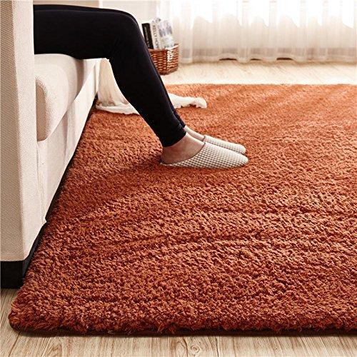 Large Size Home Floor Shaggy Carpet Soft Living Room Rug Modern Shag