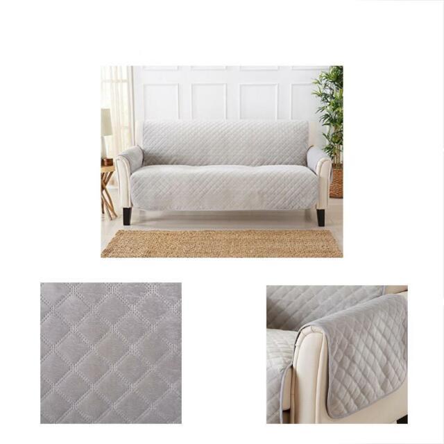 Modern Sofa Slipcovers Velvet Furniture Protector. Stain Resistant
