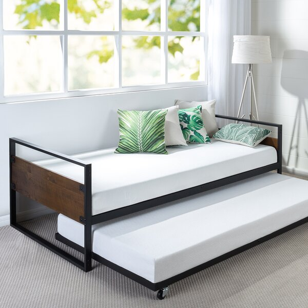 Modern & Contemporary Modern Contemporary Trundle Bed | AllModern