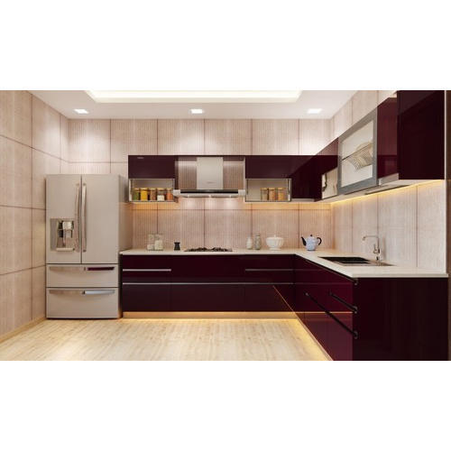 Designer Modular Kitchen at Rs 360 /square feet | मॉडर्न