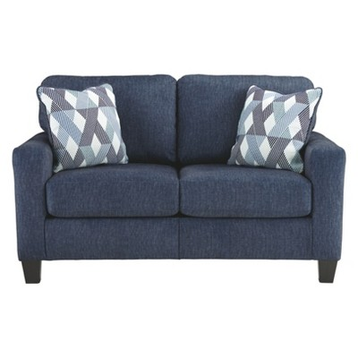 Burgos Loveseat Navy - Signature Design By Ashley : Target