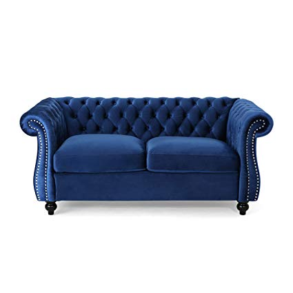 Navy loveseat furniture pride of any   house