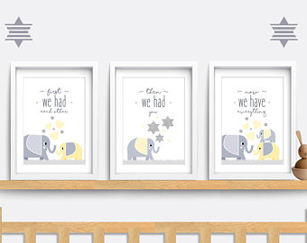 Nursery wall art | Etsy