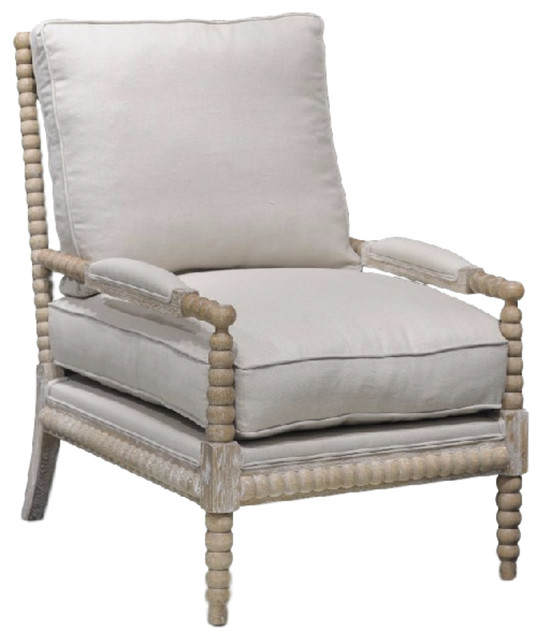 Rupert Occasional Chair - Beach Style - Armchairs And Accent Chairs