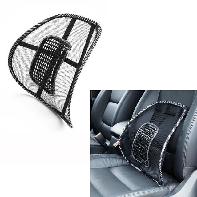 Online Shop Universal Car Chair Back Support Massage Cushion Mesh