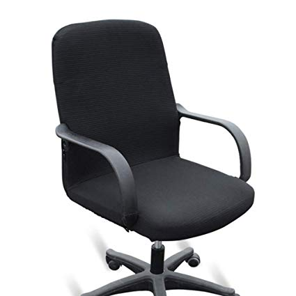 Amazon.com: BTSKY Office Computer Chair Covers Stretchy -Polyester